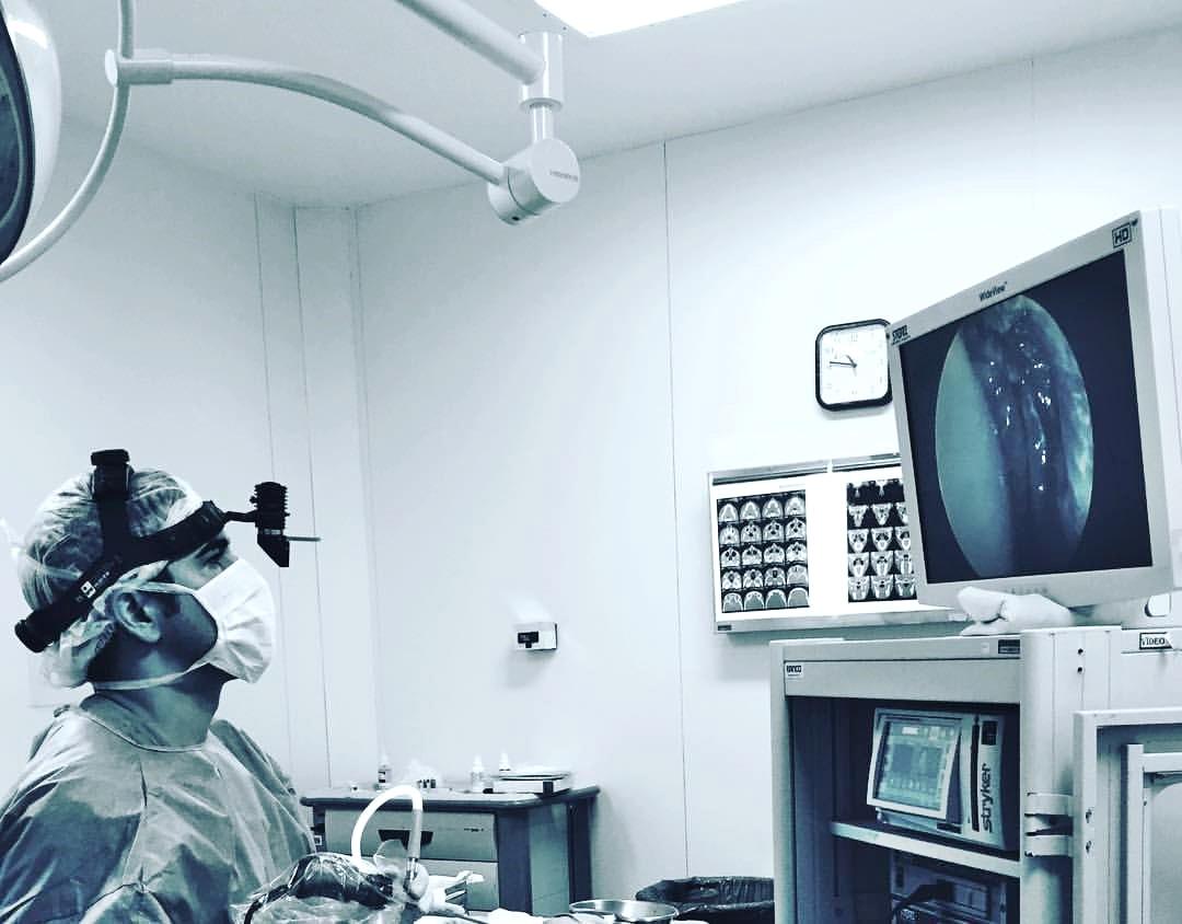 Cirurgia das vias lacrimais por videoendoscopia