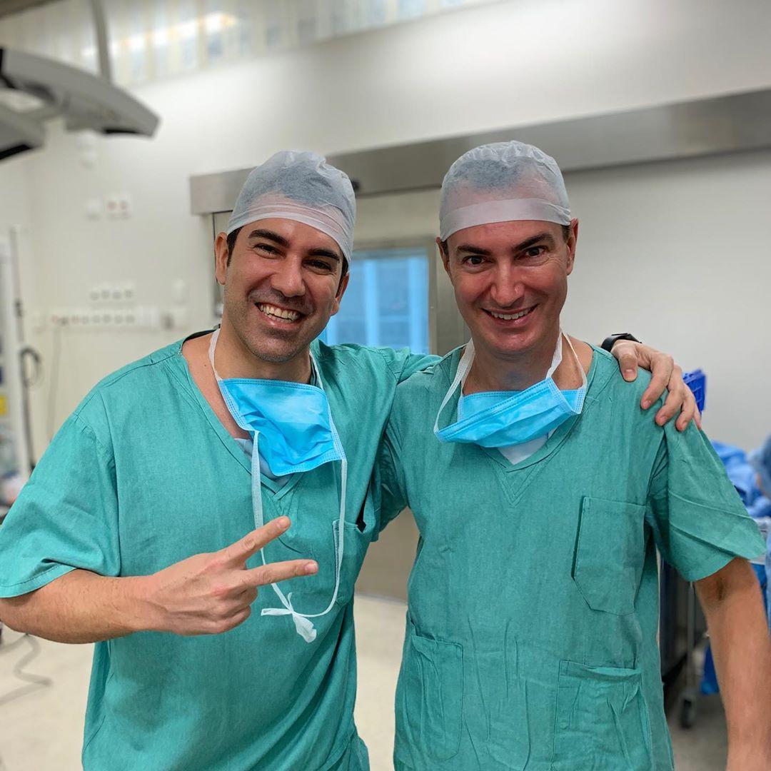 Que cirurgia maravilhosa!