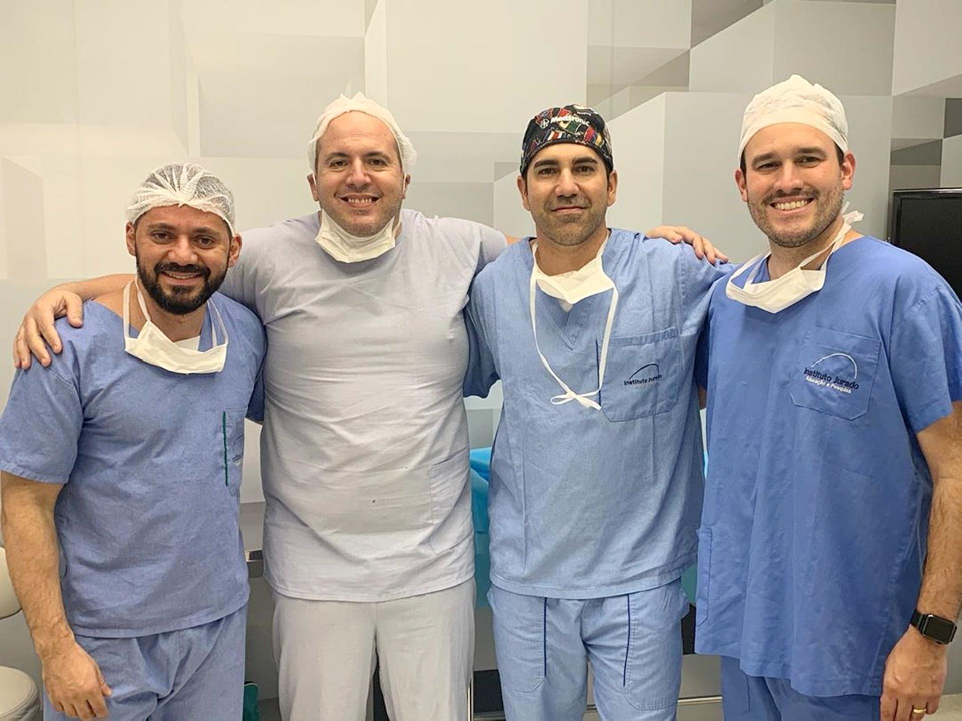 Última cirurgia com esse grupo nota 100