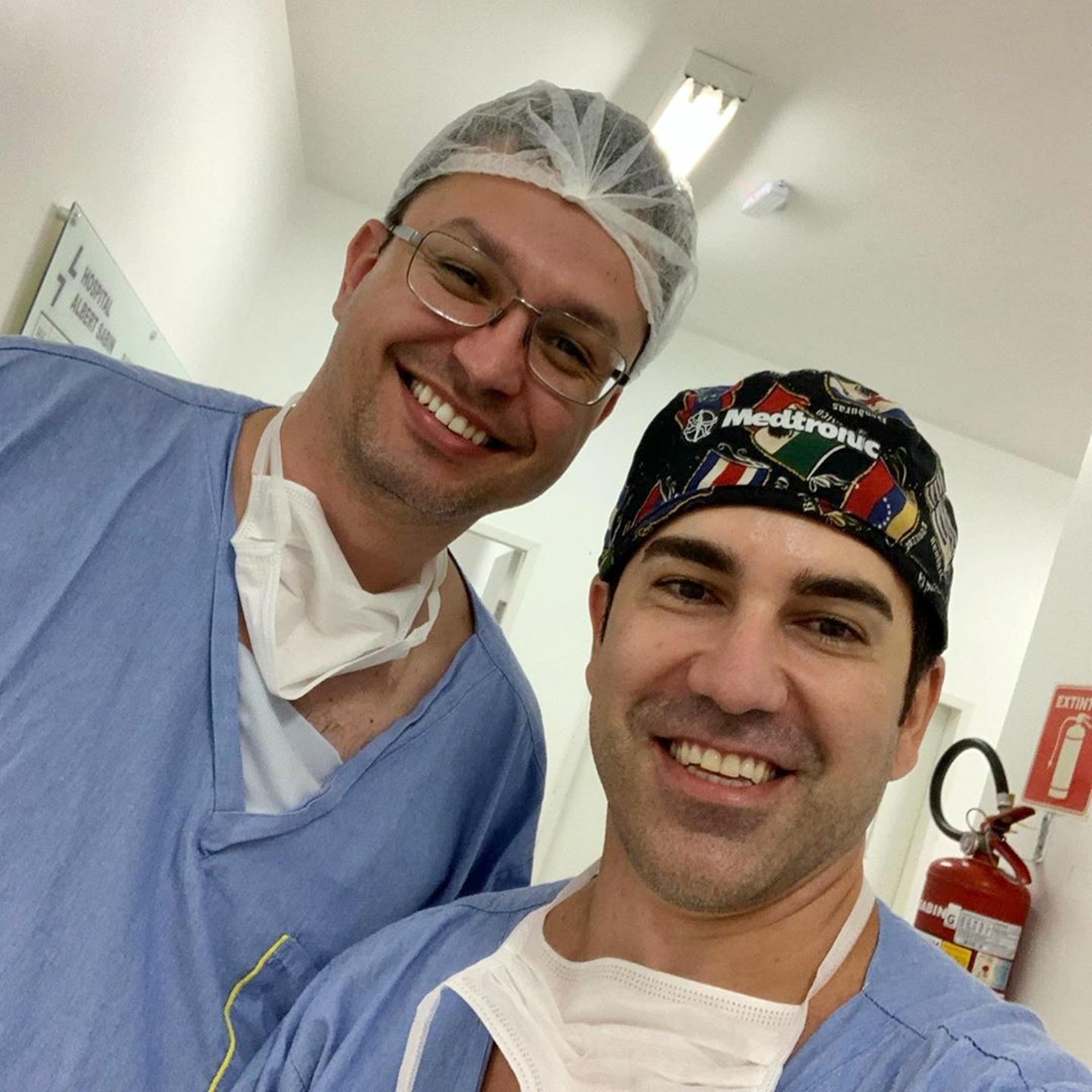 Anestesista nota 10, Dr. Ricardo